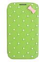 Capa de Couro bowknot elegante para Samsung Galaxy Note N7100 2 (cores sortidas)