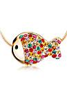 Colorful peixinho clavicula cadeia N507