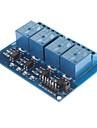 DC 5V Modulo de Rele 4-Channel Com Optoacoplador Para Arduino PIC ARM AVR DSP