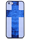 Blue Cross Back Case for iPhone 5/5S