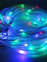 Multicolor solarbetriebene Schlauch-Seil 100 LED-Schnur-Licht-Lampen-Garten-Party Decor