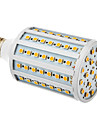20W E26/E27 LED Corn Lights T 102 SMD 5050 lm Warm White AC 220-240 V