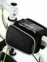 """ROSWHEEL portátil bicicleta Bolsa frontal com caixa para o telefone móvel Less Than 4.8 """""""