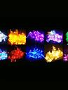 100-LED 10M Decoration light for Christmas Party RGB Light LED String Light with 8 Display Modes (220V)