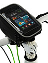 """ROSWHEEL Portable Bicycle Front Bag with Case for Mobile Phone Less Than 5"""""""