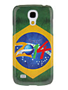 Pour Samsung Galaxy Coque Motif Coque Coque Arriere Coque Drapeau Polycarbonate Samsung S4 Mini