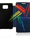 Bolsa em couro colorido modulador para Samsung I9100 Galaxy S2