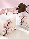 Cherry Blossom Mini-Pillar Candle