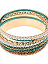 (1 Pc) Multicolor Perola Moda feminina Multi-Bangle