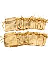 (20 piezas) Classic Gold / joyeria de hilo de plata de los bolsos para los diarios