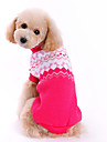 Dog Sweaters-XS/S/M/L/XL-Winter-Rose-Classical Stripe-Woolen
