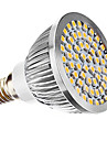 3W E14 LED-spotlights MR16 60 SMD 3528 240 lm Varmvit AC 110-130 / AC 220-240 V