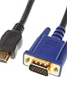 Cable VGA - HDMI (1,5 m)