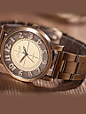 여성의 시계 고전 청동 다이얼