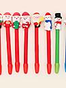 Рождественский снеговик стиль шариковой ручки