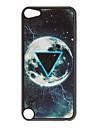 Shimmering Beautiful Earth et cas dur de modèle de triangle pour iPod touch 5