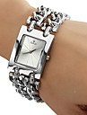 Women's Watch Square Radial Pattern Dial Bracelet Watch Cool Watches Unique Watches
