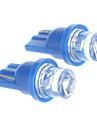 T10 Carro Azul Luz Instrumento Luz de Matricula Luz de Sinal de Direcção Luz de Travão