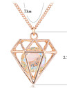 Jewelry Pendant Necklaces Party / Daily Alloy Women Gold / Silver Wedding Gifts