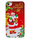 Рождество серии Дед Мороз с Футляр Многие Подарки Pattern для iPhone 4/4S
