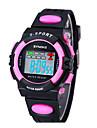 SYNOKE LEO enfants cadran numérique PU bande de montre-bracelet résistant à l'eau