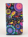 Colourful Pattern Full Body Leather Tpu Case for iPhone 4/4S
