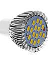 6W GU10 Spot LED 16 SMD 5730 640 lm Blanc Froid AC 85-265 V