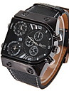 Men's Watch Military Dual Time Zones Multi Function Cool Watch Unique Watch