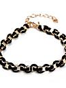 Manera de la cadena de ruedas Negro & Link pulsera (color al azar)