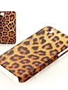 Leopard Pattern Frosted Hard Case for iPhone 4/4S
