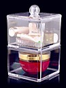Acrylic Transparent Complex Combined Double Layer Cosmetics Storage Box Cosmetic Organizer