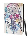 Drawing Pattern PU Leather Full Body Case with Stand and Stylus Touch Pen for iPad 2/3/4