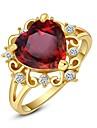 Alliances Mariage / Soiree / Decontracte Bijoux Cristal Femme Bagues Affirmees6 / 7 / 8 / 9 Dore