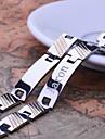 Персональный подарок Мужские украшения из нержавеющей стали выгравированы ID Браслеты 1.2cm Ширина