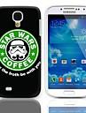 Forth Be With You Hard Case Desain dengan 3-Pack Screen Protektor untuk Samsung Galaxy Mini I9190 S4