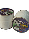 500M / 550 Yards PE Braided Line / Dyneema / Superline Fishing Line White 10LB / 12LB / 15LB / 18LB 0.1;0.12;0.14;0.16 mm ForSea Fishing