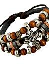 Bracelets de rive Original Mode bijoux de fantaisie Cuir Bijoux Bijoux Pour Soiree Quotidien Regalos de Navidad