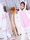 Pink Unicorn Flannel Kids Kigurumi Pajama