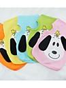 Perros Camiseta Naranja / Amarillo / Verde / Azul / Rosado Ropa para Perro Verano Caricaturas