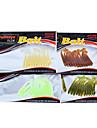 12 pcs Isco Suave / Amostras moles Conjuntos de Isco Iscas Conjuntos de Isco Isco Suave / Amostras molesVerde Amarelo Cores Sortidas