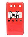 Padrão Duff Beer Hard Case para Samsung Galaxy S I9070 Adiantamento
