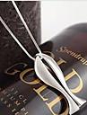 Alliage de mode Poissons Forme collier pendentif (1 PC)