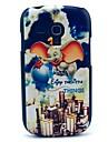Pour Samsung Galaxy Coque Motif Coque Coque Arrière Coque Eléphant Polycarbonate Samsung S3 Mini