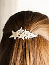 Fashionable Shining Five Pointed Star Hair Clips