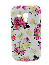 Rose Flower Pattern Hard Case for Samsung Galaxy Trend Duos S7562