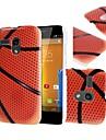 Basketball Pattern Hard Case Cover for Motorola Moto G DVX XT1032