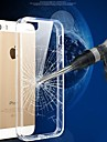 Scratch-resistant Crystal Colorful TPU Frame Transparent PC Cover Case for iPhone 5/5S(Assorted Colors)