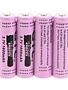 GTL ICR 1600mAh 14500 batterij (4 stuks)