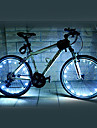 FJQXZ 18 LED 2 modes Blanc velo Roue Light - 1 PC