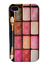Red Series Eye Shadow Glossy Pattern Hard Protector Case for iPhone 4/4S